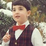 This is teeny tiny baby Conor.