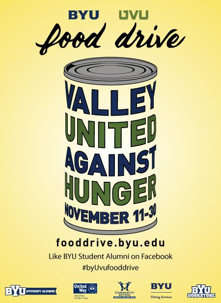 BYU/UVU Food Drive