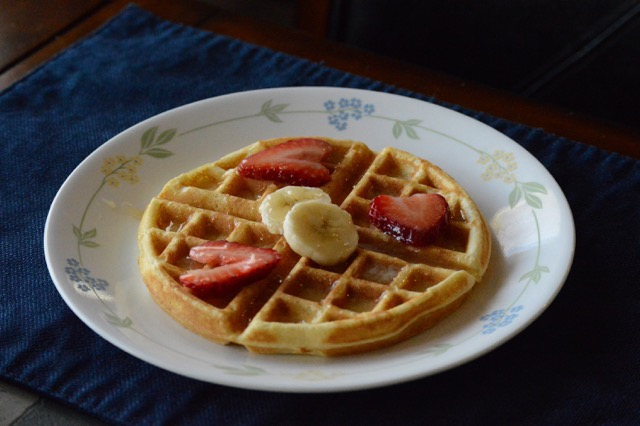 Mrs. Ward's Waffles and Buttermilk Syrup