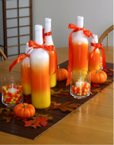 Candy Corn Centerpieces