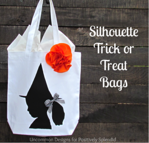 sihouette tote