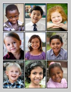 various children