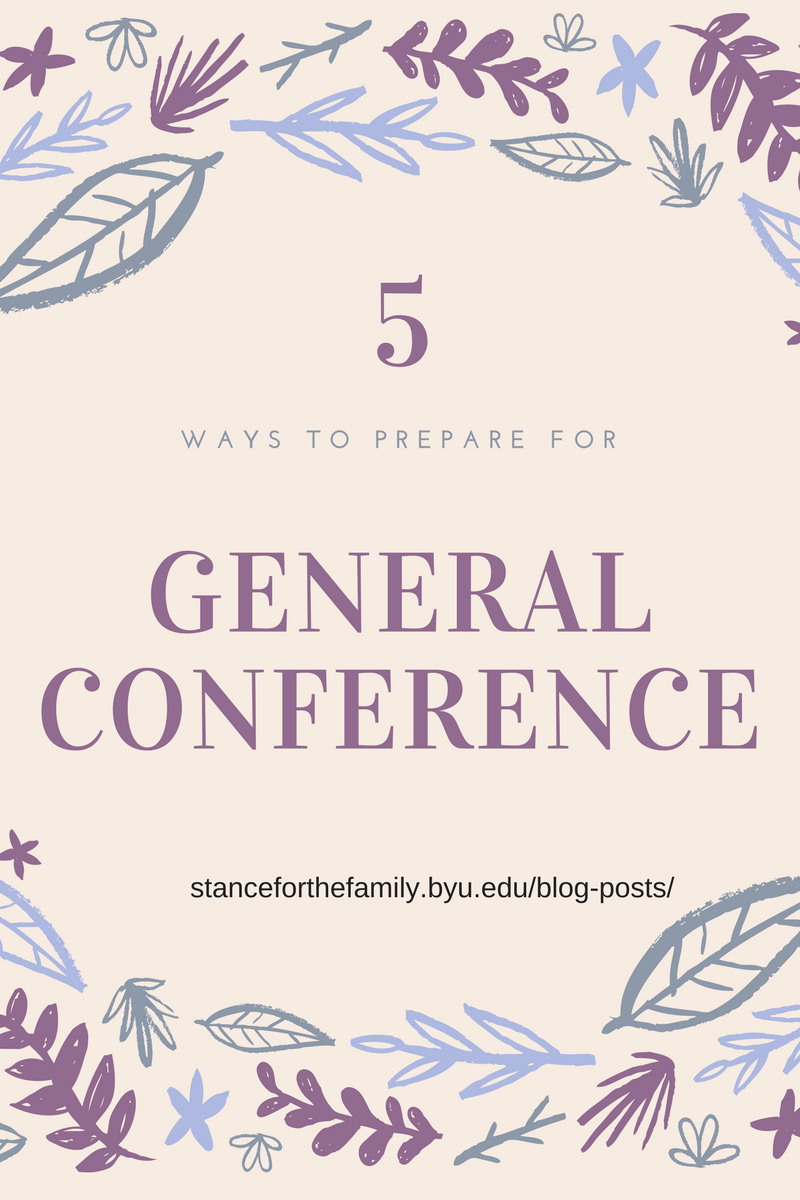 Get Pumped (and Prepped) for General Conference