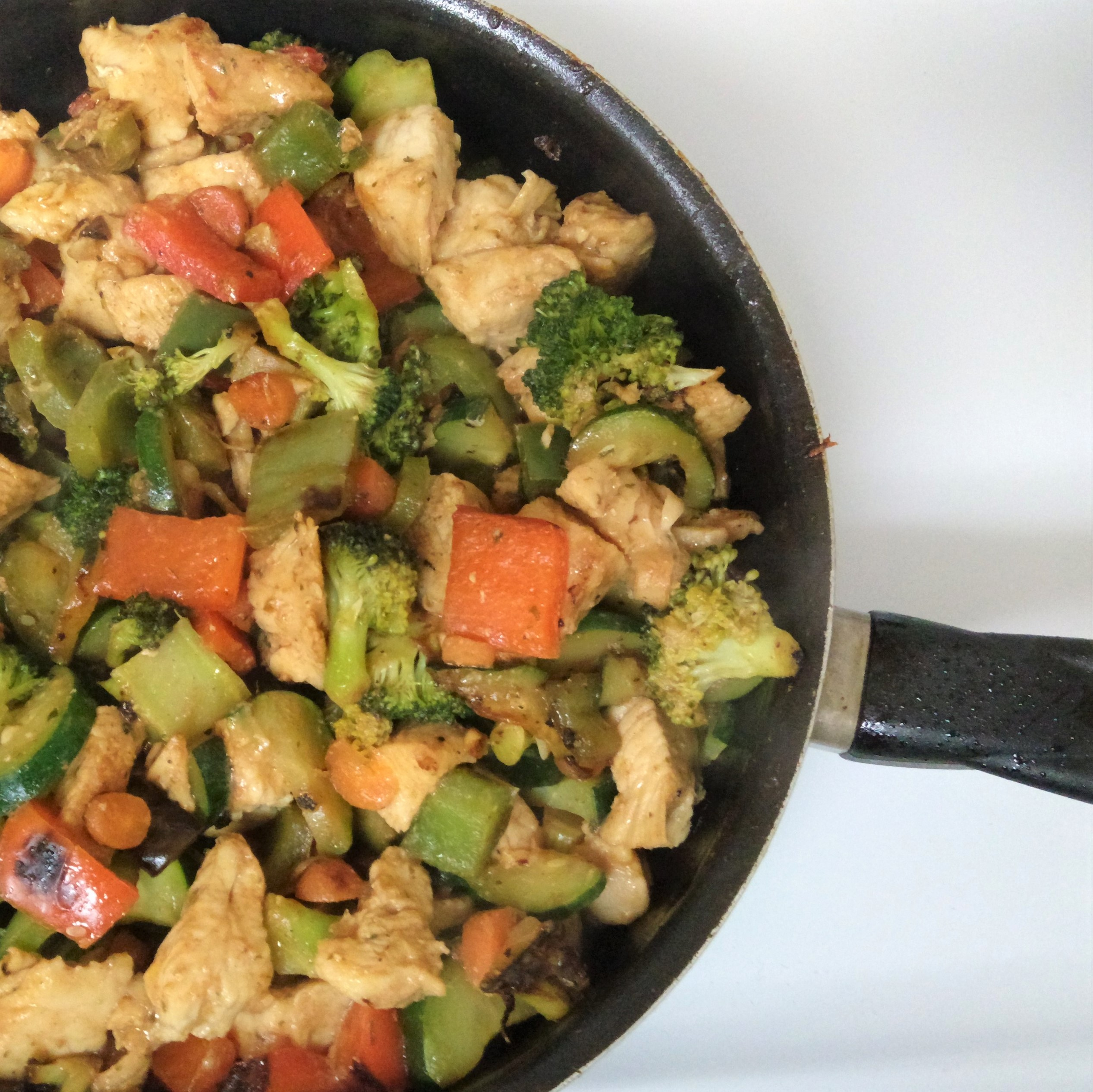 Killer Recipes: Skillet Chicken and Veggies